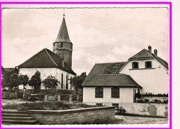 23074  CPM  WALDHAMBACH : Eglise !    JOLIE CARTE PHOTO !! - France