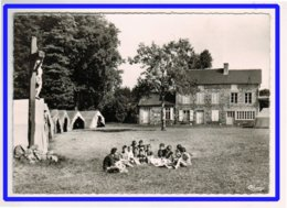 23088   CPM    L'HERMITAGE  - LORGES  : La Colonie , La Poste Et La Mairie !   SUPERBE !!   Carte Photo  196?   !! - France