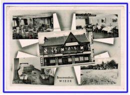 23090   CPM   BROUWERSHUIS WIEZE  : Café - Hotel - Restaurant : SUPERBE CARTE PHOTO Multivues !!! - Belgien