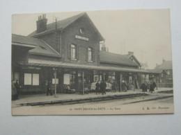 Carte Postale   SAINT- AMAND-LES-EAUX , Gare - Autres Communes
