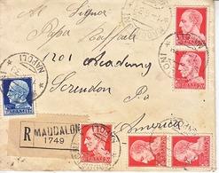 ITALY  COVER  TO  U.S.   1939 - 1900-44 Vittorio Emanuele III