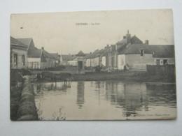 Carte Postale   CHIVRES  1917 - France