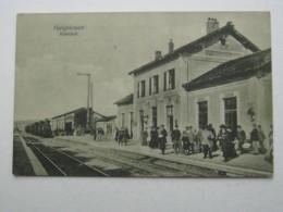 Carte Postale   GUIGNICOURT , Gare 1915 - France