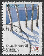 Greenland 2011 Europa 9k Good/fine Used [39/31722/ND] - Used Stamps