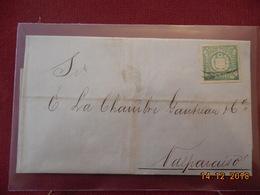 Lettre Du Perou De 1874 A Destination De Valparaiso - Peru