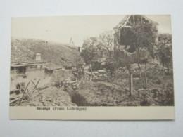 Carte Postale  BEZANGE 1916 - Non Classés
