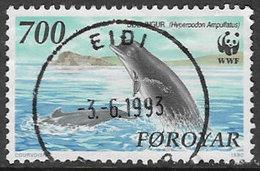 Faröe Islands SG199 1990 Whales 700ö Good/fine Used [39/31724/6D] - Faroe Islands