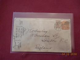 Lettre D Adelaide De 1895 A Destination De Londres - Lettres & Documents
