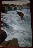 POST FALLS 1911., 20 MILLES FROM SPOKANE, WATERFALLS, ORIGINAL OLD POSTCARD - Coeur D'Alene