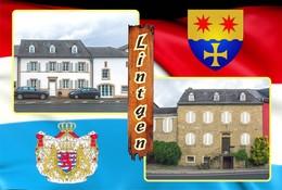 Postcard, REPRODUCTION , Communities Of Luxembourg, Lintgen Duplex 1 - Cartes Géographiques