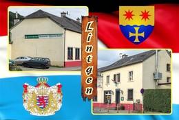 Postcard, REPRODUCTION , Communities Of Luxembourg, Lintgen Duplex 3 - Cartes Géographiques