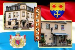 Postcard, REPRODUCTION , Communities Of Luxembourg, Lintgen Duplex 4 - Cartes Géographiques