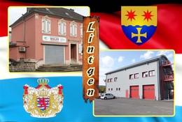 Postcard, REPRODUCTION , Communities Of Luxembourg, Lintgen Duplex 5 - Cartes Géographiques
