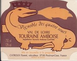 TOURAINE- AMBOISE VAL DE LOIRE VIGNOBLE DES QUATRE ROUES   (8) - Bordeaux