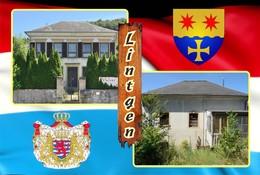 Postcard, REPRODUCTION , Communities Of Luxembourg, Lintgen Duplex 8 - Cartes Géographiques