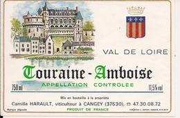 TOURAINE- AMBOISE VAL DE LOIRE CAMILLE HARAULT   (8) - Bordeaux