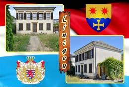 Postcard, REPRODUCTION , Communities Of Luxembourg, Lintgen Duplex 9 - Cartes Géographiques