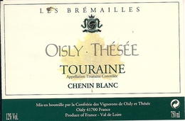 TOURAINE CHENIN BLANC OISLY-THESEE LES BREMAILLES  (8) - Bordeaux