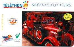 Pompier Fire Brigade Feuerwehr - Carte Forfait Téléphone Luxe Card (G 608) - Firemen