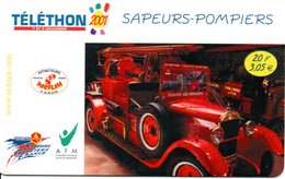 Pompier Fire Brigade Feuerwehr - Carte Forfait Téléphone Luxe Card (G 608) - Bomberos