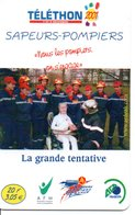Pompier Fire Brigade Feuerwehr - Carte-forfait Téléphone Card Luxe (G 609) - Bomberos
