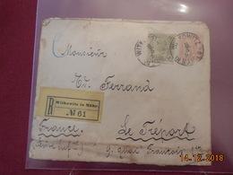 Lettre D Autriche De 1893 Pour La France En Recommande - Briefe U. Dokumente