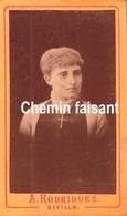 Avant 1900 - Photographie Originale D'un Homme - RODRIGUEZ Sevilla Seville Espagne - CDV 60 X 100mm - Scans Recto-verso - Photographs