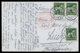 1921, Schweden, 175 I WB (3), Brief - Sweden
