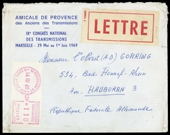 1969, Frankreich, Brief - Frankreich