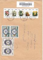 Syria Com. Registred Medium Size,franked 2 Compl.set Fifa 100th SAnn + Compl.stri[p Flowers 5v. Red. Price - SKRILL ONLY - Syria