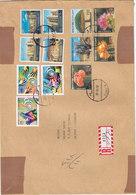 Yemen Rep.Medium Size Com. Registr Cover 1998,franked 3 Compl.sets Scarce- Reduced Price - SKRILL PAYMENT - Yemen