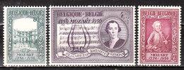 987/89*  Mozart - Série Complète - MH* - LOOK!!!! - Neufs