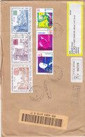 Vatican Com.Registr.cover 2003,franked 2 Complete Sets Visit Pope John +ann Stamps- 6v. Red.Price - SKRILL PAY - Vatican
