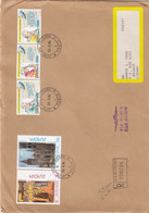 Vatican Com.Regsitr Cover 1994,franked 2 Sets Pope John Hig V.3 Stamps+ Euro[pa- Compl.set- Red. Price- SKRILL PAY - Vatican