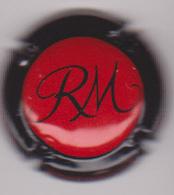 Capsule Champagne MANCEAUX Roger ( 14e ; Rouge Contour Noir ) {S51-18} - Champagne
