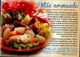 POTEE NORMANDE....CPM - Recettes (cuisine)