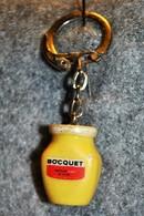Rare Vintage Porte-clefs Années 50-60  Moutarde Bocquet - Porte-clefs