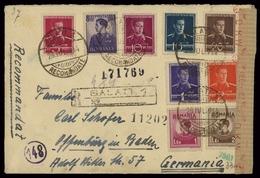 1931, Rumänien, 427-28 U.a., Brief - Rumänien