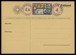 1939, Schweiz Soldatenmarken, Brief - Soldaten Briefmarken