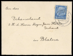 Böhmen Und Mähren, 521, Brief - Böhmen Und Mähren