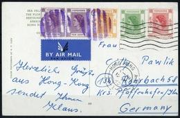 1954, Hongkong, 182 U.a., Brief - Hong Kong (1997-...)