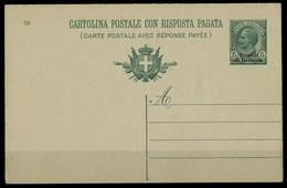 1909, Italienisch Tripolitanien, P 62, Brief - Italien