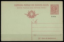1918, Italienisch-Libyen, P 3, Brief - Italien