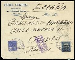 1927, Brasilien, 284 U.a., Brief - Brazil
