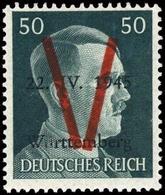 1945, Deutsche Lokalausgabe Saulgau, XII, ** - Deutschland