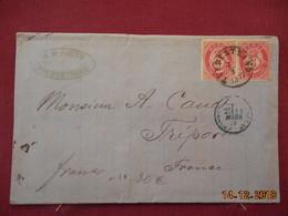 Lettre De Suede De 1877 Pour La France - Suède