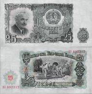Bulgaria 1951 - 25 Leva - Pick 84 UNC - Bulgaria