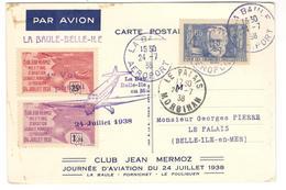 11319 - LA BAULE BELLE ILE - Poste Aérienne