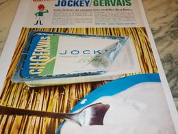 ANCIENNE PUBLICITE JOCKEY DE GERVAIS  1965 - Affiches