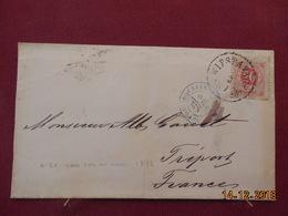 Lettre De Suede De 1878 Pour La France - Suède